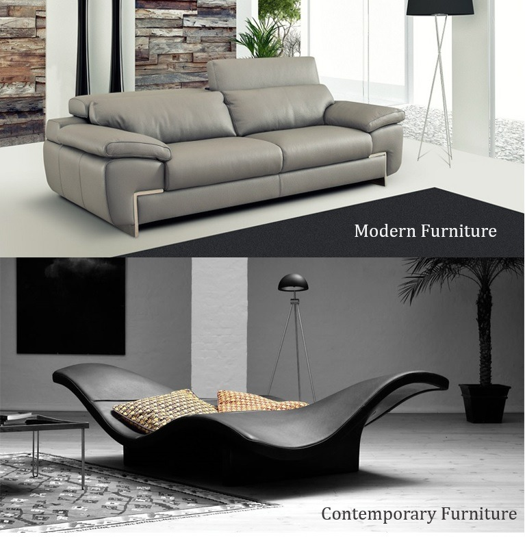 Differences Between Modern Contemporary Furniture